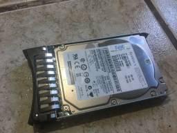 HD?s de servidor IBM - SAS 300gb com gabinete- Leia