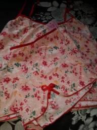 Baby doll e camisola