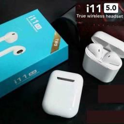 Fone i11 TWS sem fio Bluetooth iOS e Android