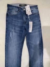 Calça Jeans Destroyd Hering