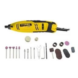Kit de Micro Retífica 150w com 40 acessórios Hammer 220v