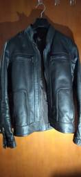 Jaqueta masculino couro