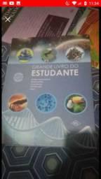 Kit de livros pra estudos para Enem, vestibular