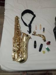 Saxofone eagle SA 501 top de linha