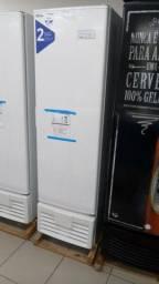 Freezer vertical de 284 litros dupla acao