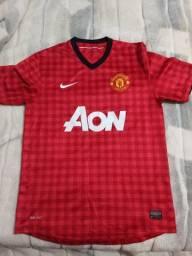 Título do anúncio: Camisa Manchester United 2012/13 - Tamanho M