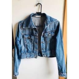 Vendo jaqueta vintage azul