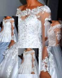 Vendo vestido de noiva R$ 950,00