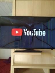Tv trincada smart Samsung 40