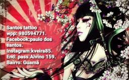 Promoção de tattoo. No Santos Tattoo. Orçamento sem compromisso.