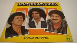 LP Vinil - Trio Parada Dura - Barco de papel / ano: 1984 - 12 musicas