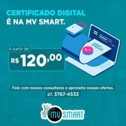 [Oportunidade] - Mv Smart - Certificado Digital A partir de R$120,00