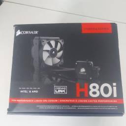 Water Cooler Corsair Hydro Series H80i Intel e AMD