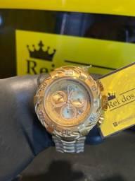Relógio Invicta THUNDERBOLT banhado a ouro