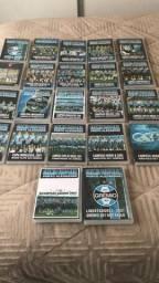 DVDS Coletânea jogos do GRÊMIO