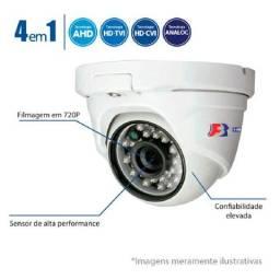 Câmera De Segurança Dome Hd 720p 25 Mts, 2,8mm Monitoramento
