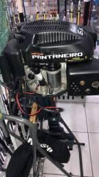Motor pantaneiro 6,5HP com Partida elétrica - 2016