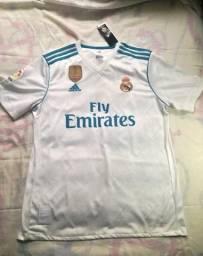 Camisa Real Madrid Home 17/18 Original