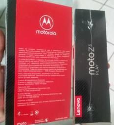 Motorola Moto Z3 Play 64GB 4GB Ram Lacrado C/ Nota Fiscal e Garantia de 1 Ano dia 06/11/18