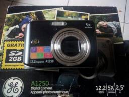 Câmera digital barata caixa e manual