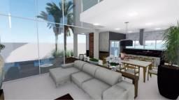 Sobrado 4 Suítes, 380 m² c/ lazer no Condomínio Mirante do Lago