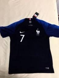 Camisa Seleção França Copa do mundo 2018 Tamanho G