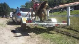Carretinha de moto pra locação