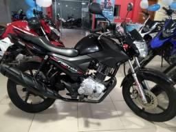Factor 150 ED 2017 Preta / Linda moto, Revisada e Garantia é na Yamaha Sapiranga - 2017