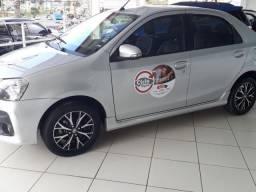 Toyota etios 1.5 platinum sedan 16v flex 4p automatico - 2018