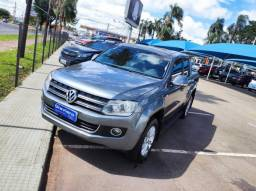 AMAROK 2012/2013 2.0 HIGHLINE 4X4 CD 16V TURBO INTERCOOLER DIESEL 4P AUTOMÁTICO - 2013