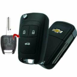 Chave canivete Chevrolet Gm celta corsa astra vectra