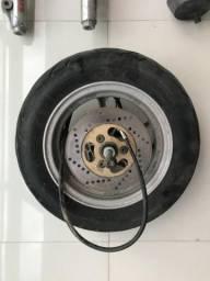 Roda completa Suzuki Burgman com Pneu