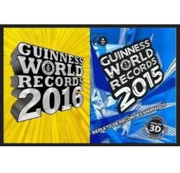Livros Guinness - Recordes Mundiais - 2015/2016