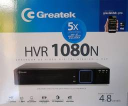 Dvr Hvr Híbrido Greatek Security 4 Canais 1080p  Hdmi
