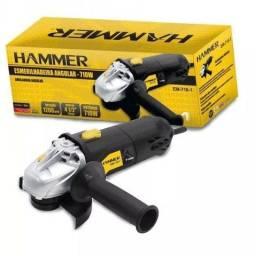 Esmerilhadeira Angular Hammer 710W Produtos Novos Na Caixa
