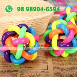 Brinquedo Bola Multicolor P com Sino