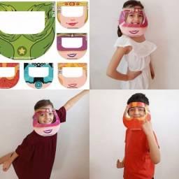 Máscaras TNT tripla camada e Protetores Faciais Personalizáveis