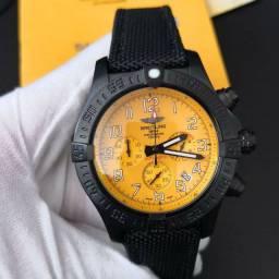 Shop Floripa Relógios - Relógio Breitling Aço e Borracha