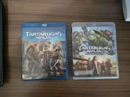 Vendo filmes Tartarugas ninja 1 e 2