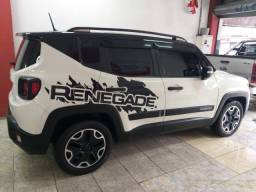 Renegade 2017 autom. troco e financio aceito carro ou moto maior ou menor valor