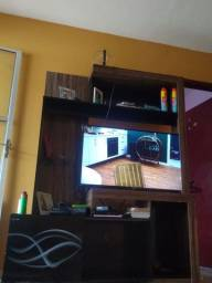 Estante sala, cabe tv até 43 polegadas