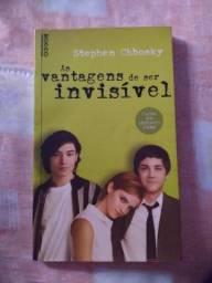"""Livro """"As vantagens de ser invisível"""""""