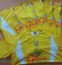 Uniforme Oficial Brasil Nike - 17 Camisas