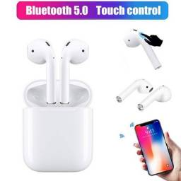 Fone I12 Tws Bluetooth 5.0 Touch - Android/ios - Funções