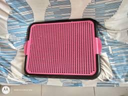 Sanitário higiênico pet rosa