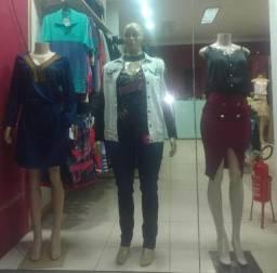 Oportunidade loja de roupa completa