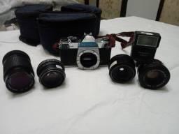 Vendo máquina fotográfica manual. -Pentax k1000 - item de colecionador