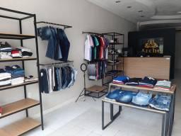Barber shop em Mossoró  RN salao com loja de roupa masculina e sala de aula para curso