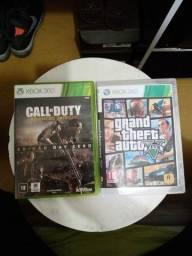 2 jogos Xbox 360 torro