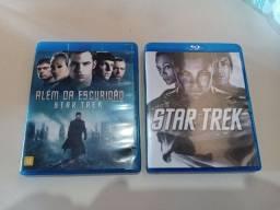 Bluray Star Trek + Star Trek Além da Escuridão (Valor dos 2)